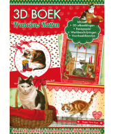 A4 3D boek Kerst Francien