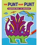 Van punt naar punt - superleuk kleur- en tekenboek