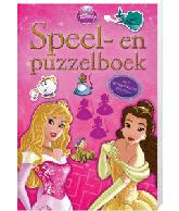 Disney speel en puzzelboek Prinsess