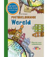 Posterkleurboek Wereld