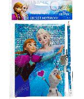 Frozen Dagboek met potlood