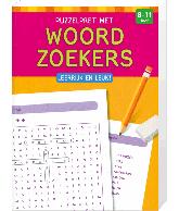Puzzelpret met Woordzoekers (8 tot 11 jaar)