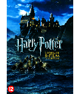 DVD box Harry Potter Complete 8-film collection
