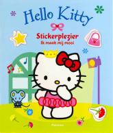 Hello Kitty stickerplezier, ik maak mij mooi