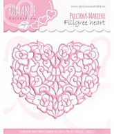 PM Romance snijmal filigree heart