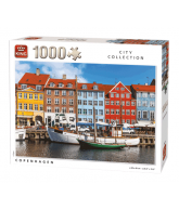 Puzzle Copenhagen (1000 pcs)