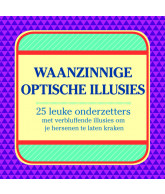 Optische illusies - 24 onderzetters