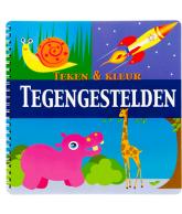 Teken & Kleur: Tegengestelden