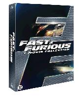 DVD box Fast & Furious 1-7