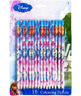 Frozen kleurpotloden 16 delig