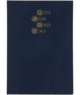 Adresboek 10,7 x 15 Blauw Boekenvoordeel