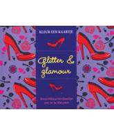 Kleur een kaartje Glitter & Glamour