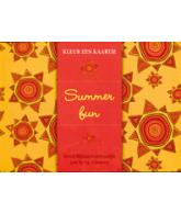 Kleur een kaartje Summer Fun