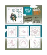 STITCH & DO CARDS ONLY SET 6