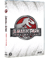 DVD Jurassic Park 1-4 Collection