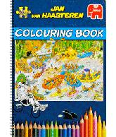Jan van Haasteren Colouring book (kleurboek deel 1)