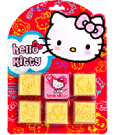 Stempelset Hello Kitty 6 delig