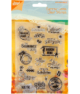 Joy Clearstamps summer lovin