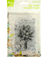 JOY CLEARSTAMPS SILHOUETTE BOUQUET