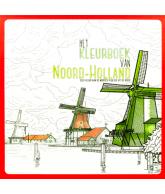 Het kleurboek van Noord-Holland