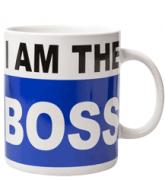 I am the Boss XXL koffiemok 900 ml