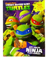 Ninja Turtles Het grote ninja turtleboek