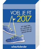 Scheurkalender 2017: Voel je fit