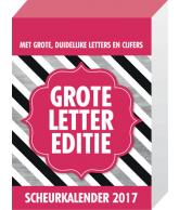 Scheurkalender 2017: Grote letter editie
