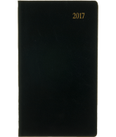 Pocket Agenda Lincoln 2017: zwart