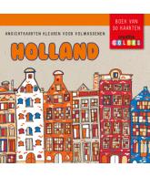 HOLLAND - ANSICHTKAARTEN KLEUREN VOOR VOLWASSENEN