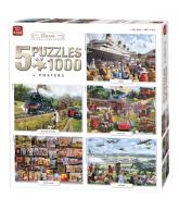 Puzzel 5 in 1 Classic 1000 stukjes