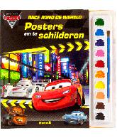 Cars 2. Race rond de wereld. Posters om te schilderen.