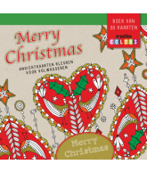MERRY CHRISTMAS - ANSICHTKAARTEN KLEUREN VOOR VOLWASSENEN