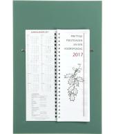 Omlegweek kalender 2017 Effen grijs