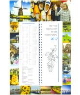 Omlegweek kalender 2017 Holland