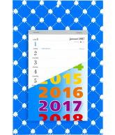 Weekblok kalender 2017 Schoppen