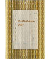 Weekblok kalender 2017 Bamboe