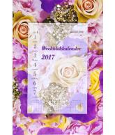 Weekblok kalender 2017 Boeket Rozen