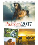 Weekkalender 2017 Paarden