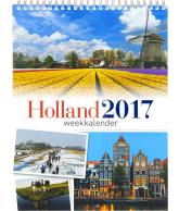 Weekkalender 2017 Holland