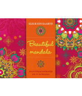 Kleur een kaartje Beautiful mandala