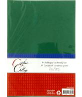 Hobbykarton A4 - 33 kerstgroen