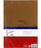 Hobbykarton A4 - 35 bruin