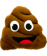 PLUSH CUSHION, POO