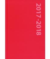 Schoolagenda A5 Rood 2017-2018