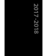 Schoolagenda A5 zwart 2017-2018