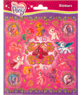Stickersheet glitter My Little Pony