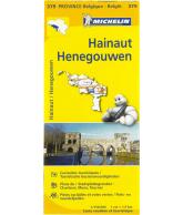Michelin Wegenkaart 379, Hainaut Henegouwen