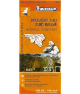Michelin Wegenkaart 534 Zuid-België, Ardennen