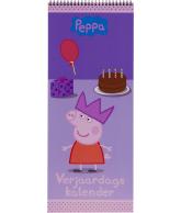 Verjaardagskalender Peppa Pig